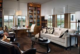 alluring awesome modern home office ideas with white couch combined lovely cushions and oval varnishing table alluring awesome modern home office ideas