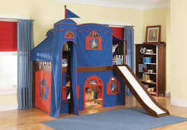image of bunk bed with slide for toddler bunk bed deluxe 10th