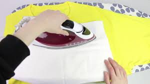 How to <b>Iron</b> on <b>Embroidered Patch</b> - YouTube