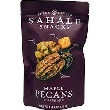 Sahale Snacks, Glazed Mix, Maple Pecans, 4 oz (113 g) | Сушеная ...