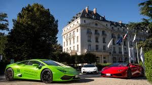 Lamborghini Lessons with Waldorf Astoria in Versailles – Robb Report