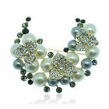 <b>Pearl</b> Fashion <b>Brooches</b> for sale   eBay