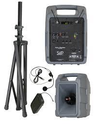 sound system wireless:  sound projections voice machine vm hh battery powered portable sound system