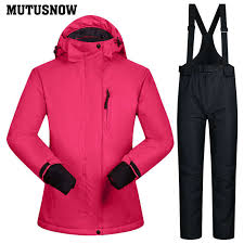 Online Shop Snowboarding <b>Suits Women</b> Winter Windproof ...