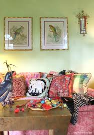 mismatched pillows works as good in boho living rooms as mismatched chairs in boho dining areas bohemian style living room