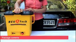 ResQTech <b>28 liter</b> Rechargeable Battery Bucket Car Washer ...