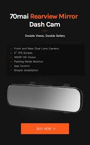 <b>70mai Rearview Mirror Dash</b> Cam – 70mai