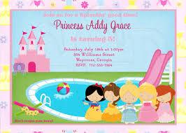 princess party invitations net homemade princess party invitations home party ideas party invitations