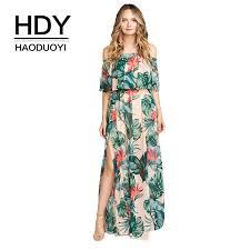 <b>HDY HAODUOYI Women</b> Dress <b>Fashion</b> Autumn Loose Sexy ...