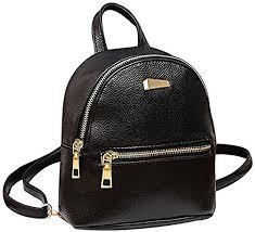 Donalworld <b>Girl</b> Floral School <b>Bag Travel</b> Cute PU Leather <b>Mini</b> ...