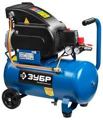 <b>Компрессор масляный ЗУБР ЗКПМ-240-24-1.5</b>, 24 л, 1.5 кВт ...
