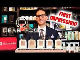<b>Dear Rose</b> Fragrances / Perfumes First Impression! - YouTube