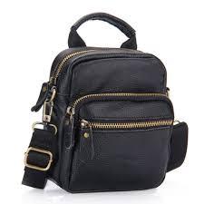 Fashion <b>100</b>% <b>Genuine Leather Bag</b> top handle Men <b>Bags</b> male ...