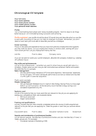 ideas chronological resume outline inspiration shopgrat chronological resume format