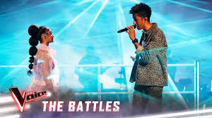 The Battles: Zeek v Lara '<b>Lovely</b>' | The Voice Australia 2019 - YouTube