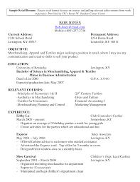 retail resume york s retail lewesmr sample resume retail resume format sle cv targeted