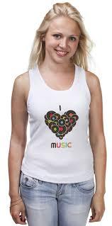 Купить <b>printio</b> i <b>love</b> music - Itourer.ru