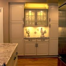 custom cabinetry with in cabinet lighting cleveland cabinet lighting custom