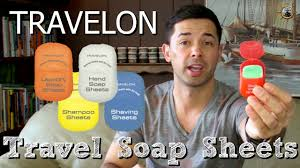 TRAVELON <b>TRAVEL SOAP</b> SHEETS // TSA Approved Body Wash ...