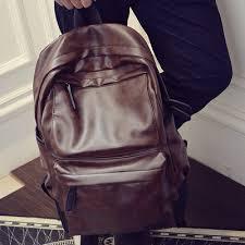 Backpack For <b>Men</b> Genuine <b>Cow</b> Leather <b>Travel</b> Computer <b>Bag</b>