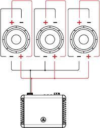 jl audio acirc header acirc support acirc tutorials acirc tutorial wiring dual 3 dvc drivers voice coils in parallel parallel