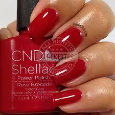 <b>CND Shellac Modern</b> Folklore Collection - Rose Brocade - swatch ...