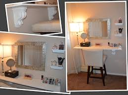vanity open shelves home  ideas about makeup shelves on pinterest diy makeup vanity diy makeup