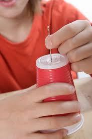 Resultado de imagen para como hacer un telefono con vasos