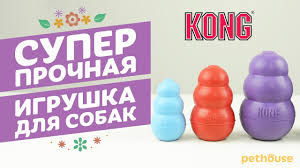 <b>Игрушка</b> для собак <b>KONG</b> - YouTube