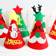 (Discount 30%) Creative <b>Cartoon Santa Elk</b> Christmas Party Kids ...