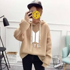 <b>New Fashion Harajuku Kawaii</b> Tops BTS Hoodie Bangtan Boys ...