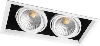 <b>Светодиодный светильник Feron</b> AL212 карданный 2x30W ...
