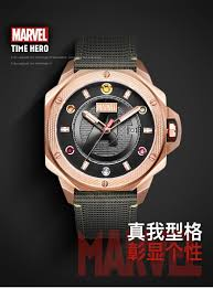MARVEL Men <b>Watches</b> Luxury Thanos Quartz <b>Sport</b> Mens <b>Watch</b> ...