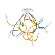 <b>Потолочная люстра Ideal Lux</b> Multiflex PL8 Color — купить в ...