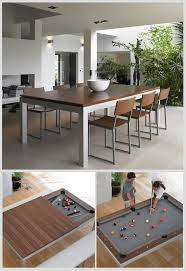 kitchen room pull table: fusion dining and pool table  fusion dining and pool table