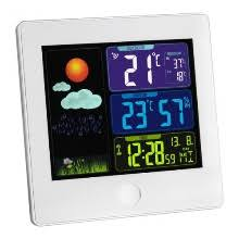 <b>Цифровые метеостанции</b> дисплей: с подсветкой (цветовой ...
