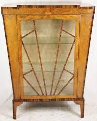 antique art deco china cabinet art deco furniture cabinet
