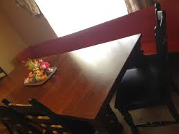 Craigslist Dining Room Table And Chairs Fordcountrydiy 12 Foot Church Pew For The Dining Room