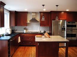 gel stain kitchen cabinets: image of staining kitchen cabinets photo