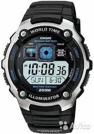 Японские наручные <b>часы Casio</b> Collection <b>AE</b>-<b>2000W</b>-<b>1</b> купить в ...