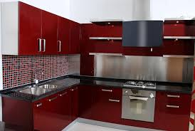modular kitchen colors: modular kitchen maroon color combination modular kitchen modular kitchen maroon color combination