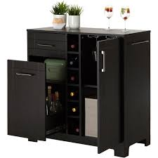 bars bar cabinets walmartcom black mini bar home wrought