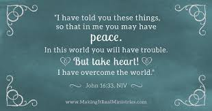 Image result for john 16:33