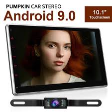 "1 DIN <b>Android 9.0</b> Universal <b>10.1</b>"" <b>IPS</b> Car Stereo with Reversing ..."