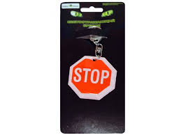 <b>Брелок StatusHome светоотражающий</b> Stop купить в детском ...