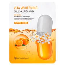 Тканевая <b>маска для лица</b> с витаминами EKEL <b>VITAMIN</b> ULTRA ...