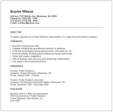 public relations resume objective sample resume credit card pr resume objective pr resume template