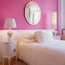 chic small shelves pink bedroom wth storage
