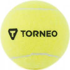 <b>Мяч для большого тенниса</b> Torneo желтый цвет — купить за 79 ...