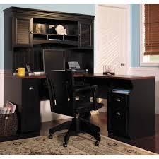 full size of desk fascinating corner desks with hutch l shape black finish solid wood brown solid wood shape home